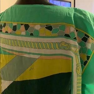 Emilio Pucci Dresses - Emilio Pucci handkerchief scarf style coverup dres